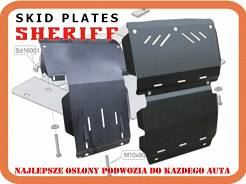 Osłona pod chłodnicę                      (-do 26. 0680,         26. 0864) VW   T5  4motion                                         ( skid plate for radiator of air conditioner )