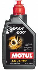 MOTUL 75w90 OLEJ mostu napedowego MOTUL GEAR 300 - JEEP CHRYSLER DODGE FORD GM